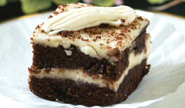 Chocolate Banana Cake with Banana Frosting